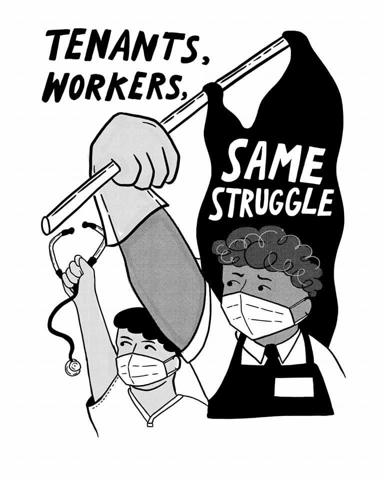Tenants, Workers: Same Struggle